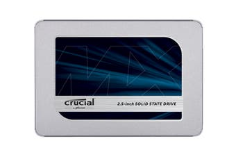 Crucial MX500 2TB SATA 2.5-inch 7mm (with 9.5mm adapter) Internal SSD (CT2000MX500SSD1)