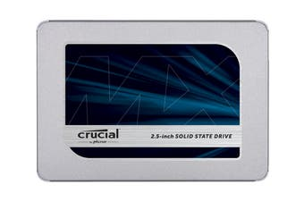 Crucial MX500 SATA 2.5-inch 7mm (with 9.5mm adapter) Internal SSD