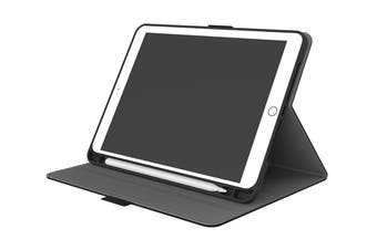Cygnett TekView Slimline Case with Apple Pencil Holder for iPad 9.7'' - Black (CY2165TEKVI)