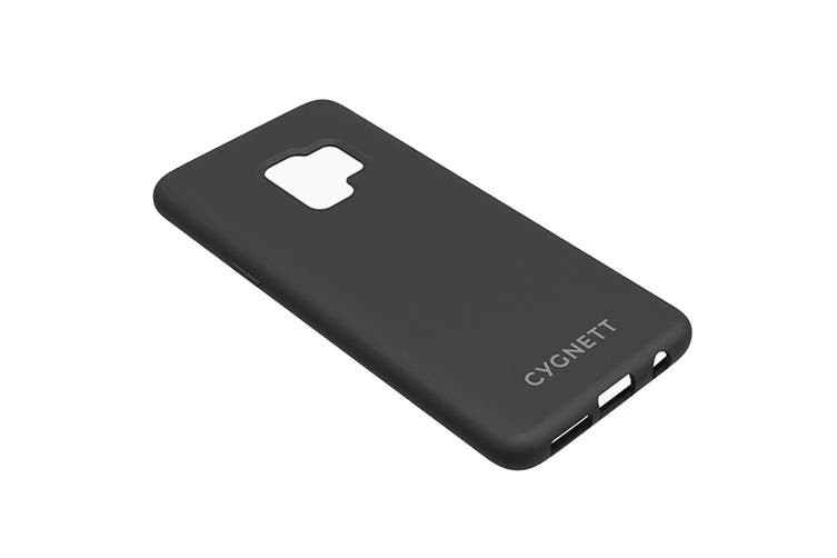 Cygnett Skin Soft Feel Case for Samsung Galaxy S9 - Black (CY2420CPSKI)