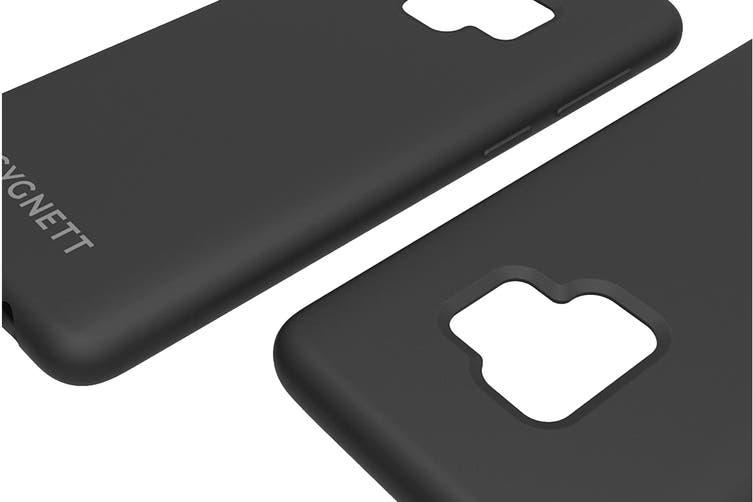 Cygnett Skin Soft feel Case for Samsung Galaxy S9 Plus - Black (CY2425CPSKI)