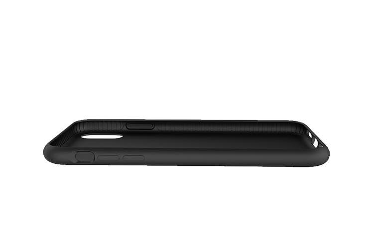 Cygnett Skin Soft Feel Case for iPhone Xs & X - Black (CY2607CPSKI)