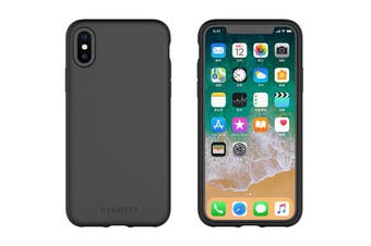 Cygnett Skin Soft feel Case for iPhone Xs Max - Black (CY2617CPSKI)