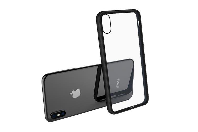 Cygnett Ozone 9H Tempered Glass Case for iPhone  Xs & X - Black (CY2638OZONE)