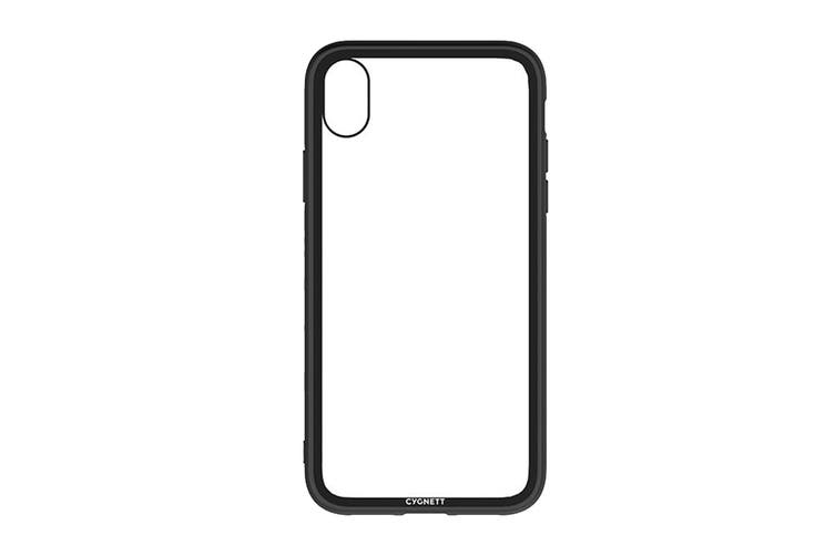 Cygnett Ozone 9H Tempered Glass Case for iPhone Xs Max  - Black (CY2642OZONE)