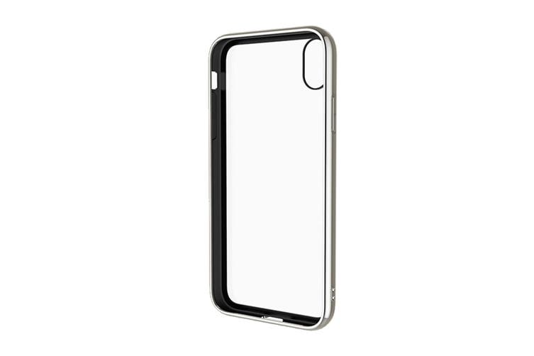 Cygnett Ozone 9H Tempered Glass Case for iPhone Xs Max - White (CY2643OZONE)