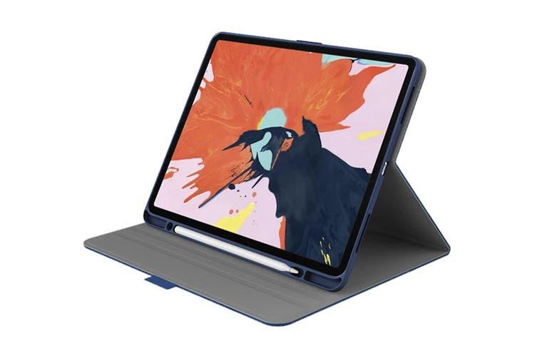 "Cygnett TekView Slimline Case with Apple Pencil Holder for iPad Pro 12.9"" - Navy/Blue (CY2708TEKVI)"