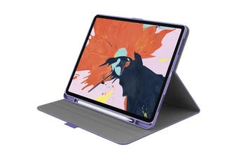 "Cygnett TekView Slimline Case with Apple Pencil Holder for iPad Pro 12.9"" - Lilac/Purple (CY2710TEKVI)"