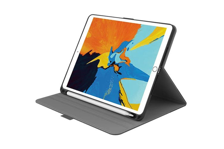 "Cygnett TekView Slimline Case Slim Case for 7.9"" iPad Mini 4 & 5 - Grey/Black (CY2842TEKVI)"