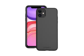 Cygnett Skin Ultra Soft Feel Case for iPhone 11 - Black (CY2916CPSKI)