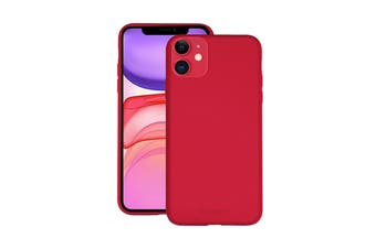 Cygnett Skin Ultra Soft Feel Case for iPhone 11 - Ruby (CY2919CPSKI)