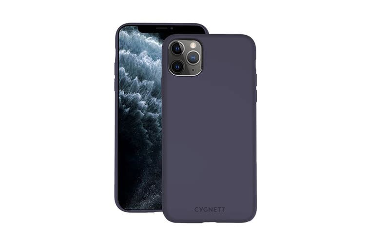 Cygnett Skin Ultra Soft Feel Case for iPhone 11 Pro - Navy (CY2921CPSKI)