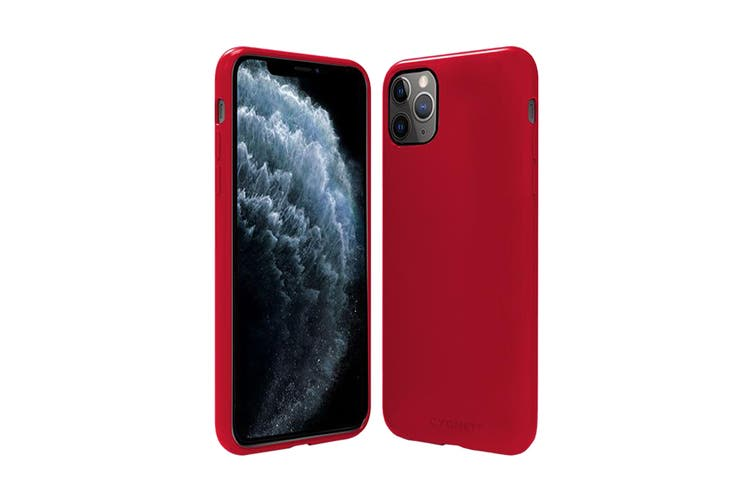Cygnett Skin Ultra Soft Feel Case for iPhone 11 Pro - Ruby (CY2923CPSKI)