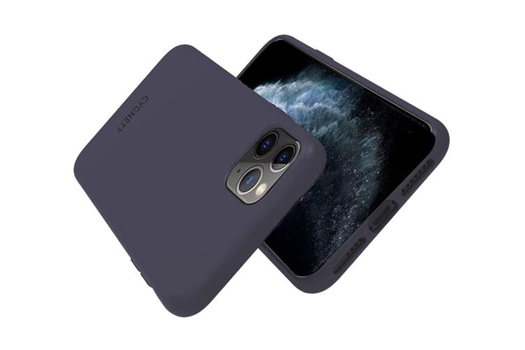 Cygnett Skin Ultra Soft Feel Case for iPhone 11 Pro Max - Navy (CY2925CPSKI)