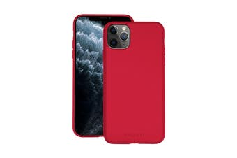 Cygnett Skin Ultra Soft Feel Case for iPhone 11 Pro Max - Ruby (CY2927CPSKI)