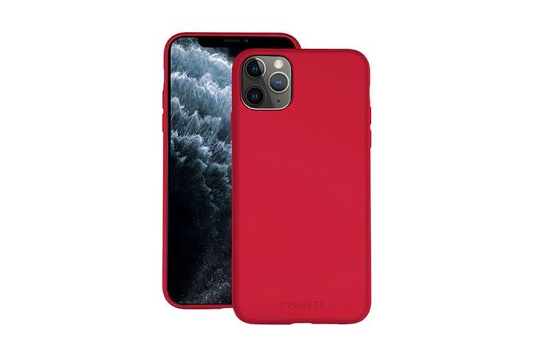 Cygnett Skin Ultra Soft Feel Case for iPhone 11 Pro Max - Ruby (CY2927CPSKI)