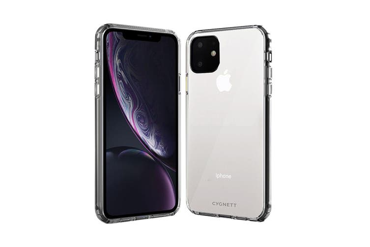 Cygnett AeroShield Slim Protective Case for iPhone 11 - Crystal (CY2928CPAEG)