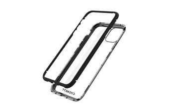 Cygnett Ozone Magnetic 9H Double Tempered Glass Case for iPhone 11 Pro - Black (CY2937OZOMG)