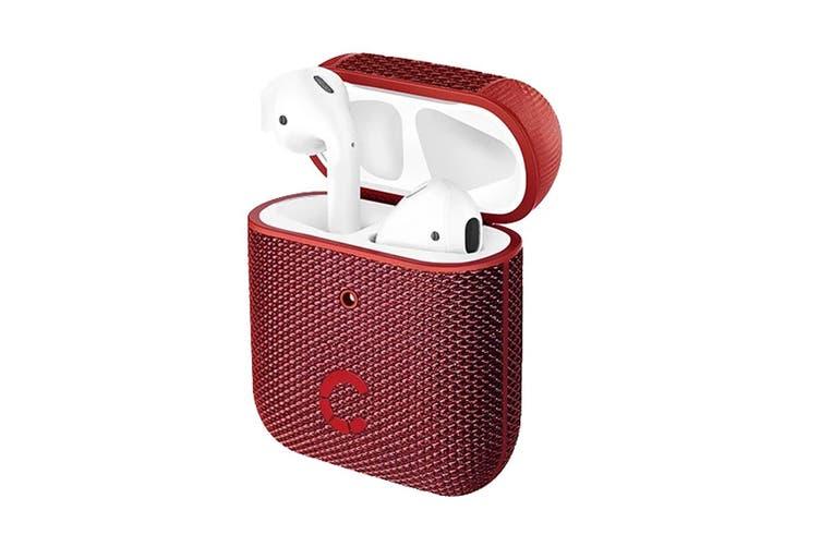 Cygnett TekView AirPods 1 & 2 Case - Red/Red (CY2957TEKVI)