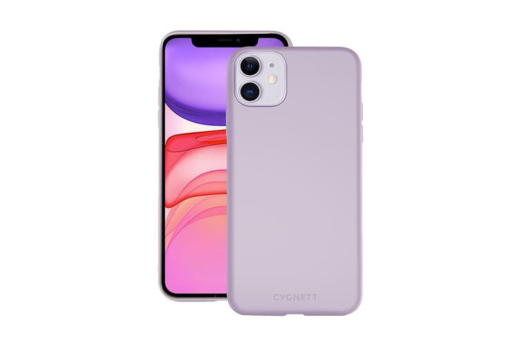 Cygnett Skin Ultra Soft Feel Case for iPhone 11 - Lilac (CY2958CPSKI)