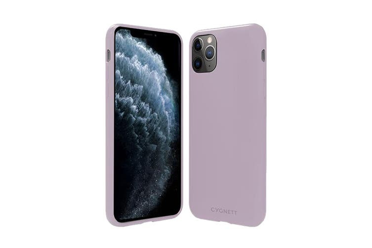 Cygnett Skin Ultra Soft Feel Case for iPhone 11 Pro Max - Lilac (CY2959CPSKI)