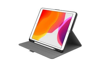 Cygnett TekView Slim Case for iPad 10.2'' with Apple Pencil Holder - Grey/ Black (CY3049TEKVI)