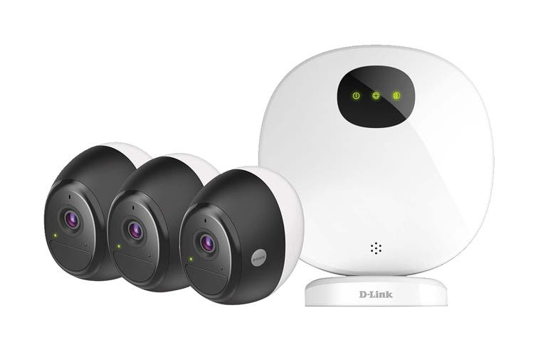 D-Link 3-Pack Omna Wire-Free Camera Kit (DCS-2803KT)