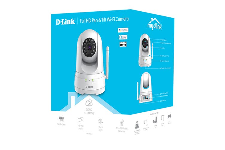 D-Link Full HD Pan & Tilt Wi-Fi Camera (DCS-8525LH)