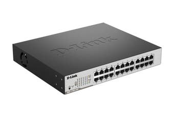 D-Link 24-Port Gigabit EasySmart PoE Switch with 12 PoE Ports (DGS-1100-24P)
