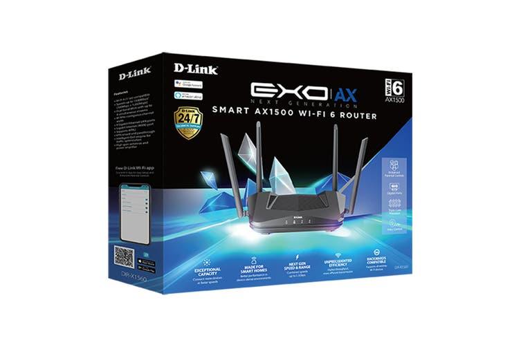 D-Link Smart AX1500 Wi-Fi 6 Router (DIR-X1560)