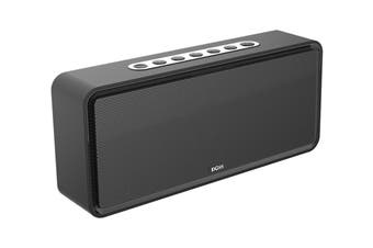DOSS SoundBox XL Portable Bluetooth Speaker with Bluetooth 4.0 and 20W HD Sound and 12W Subwoofer - Black (DS1685BLK)