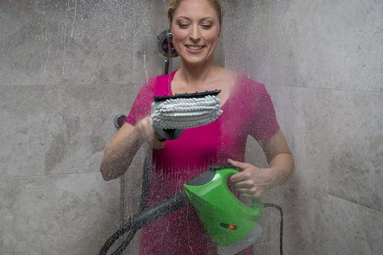H2O SteamFX Pro 5-In-1 Hand Held Steam Cleaning Mop System