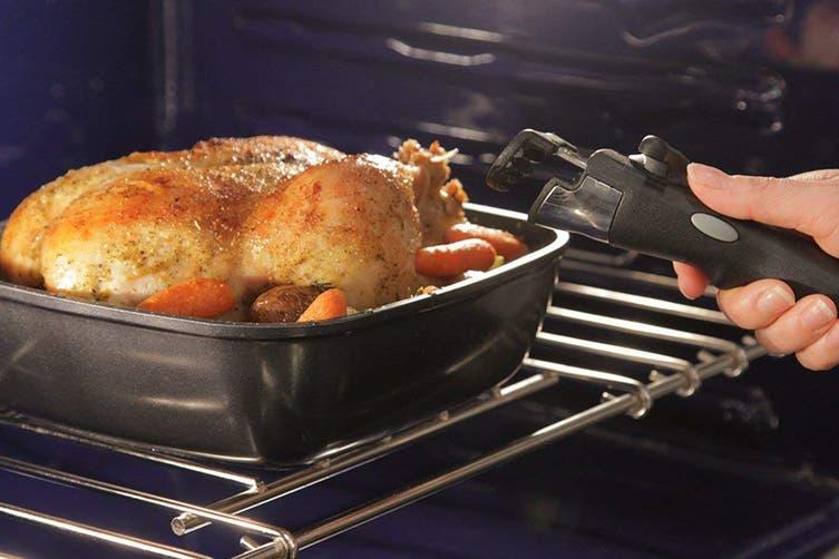 FlavorStone Diamond Saute Pan Set with Detachable Handle - 22cm/24cm