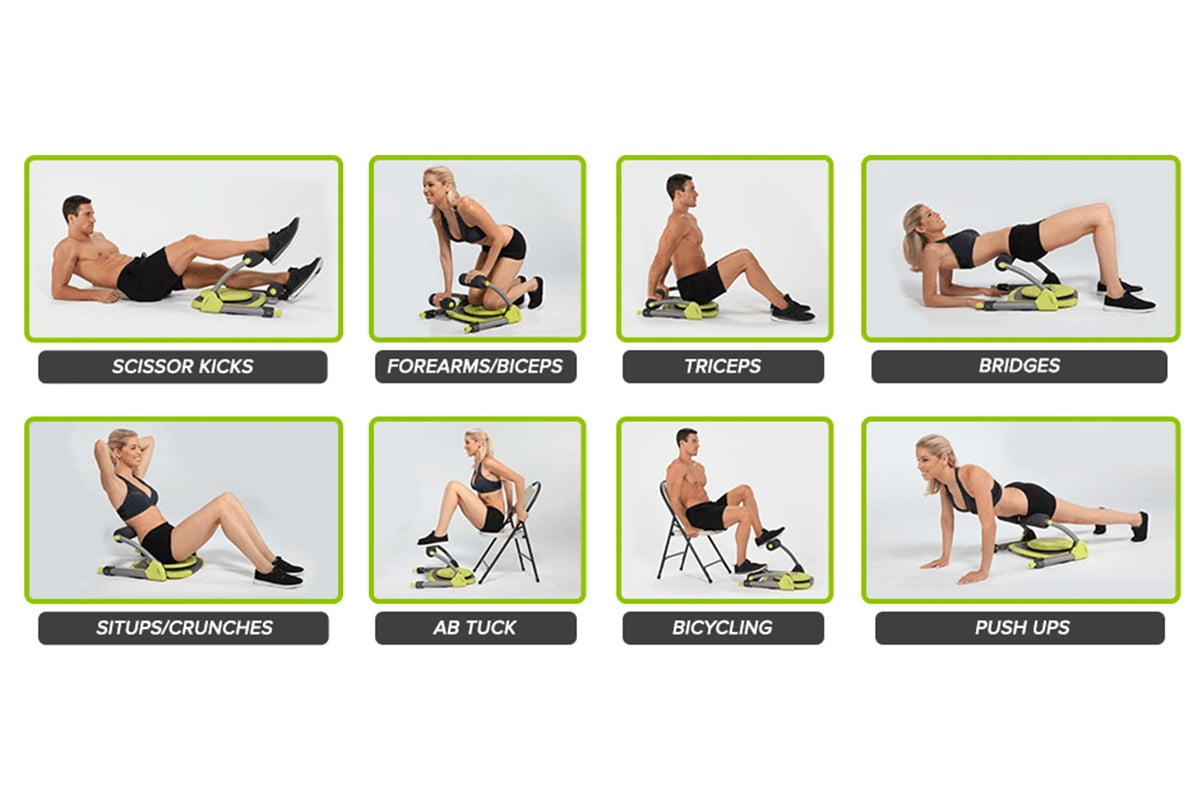 Huge range of workouts