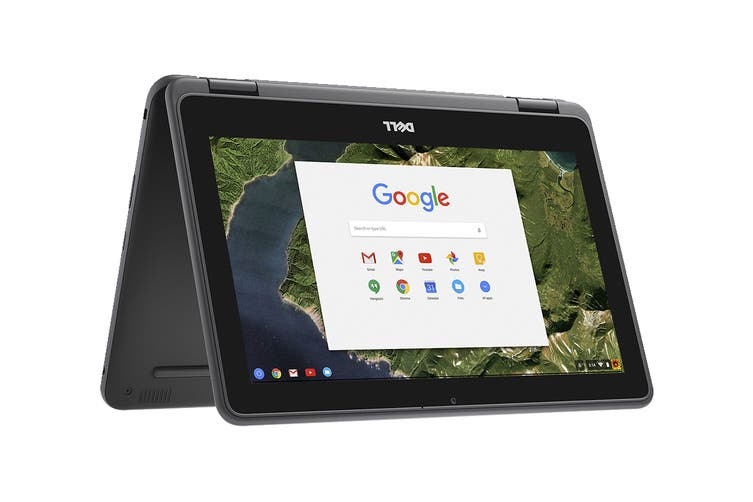 "Dell Chromebook 11 3189 11.6"" Convertible 2-in-1 Touchscreen Laptop (N3060, 4GB RAM, 16GB eMMC, Black) - Refurbished"