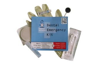 Dentist In A Box Dental Emergency Kit Plus Tooth Trauma Care