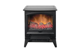 Dimplex 2000W 2kW Casper Optiflame LED Portable Electric Stove Fire - Black (CAS20N-AU)