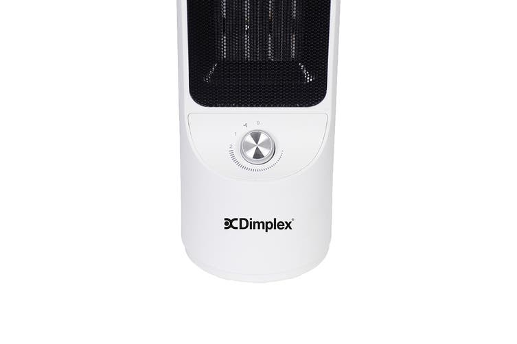 Dimplex 2000W 2kW Tall Ceramic Heater with Manual Controls - White (DHCERA20M)