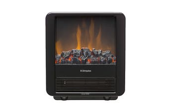 Dimplex 1200W 1.2kW Micro Stove Cast Effect Electric Fire - Black (MCFSTV12-AU)