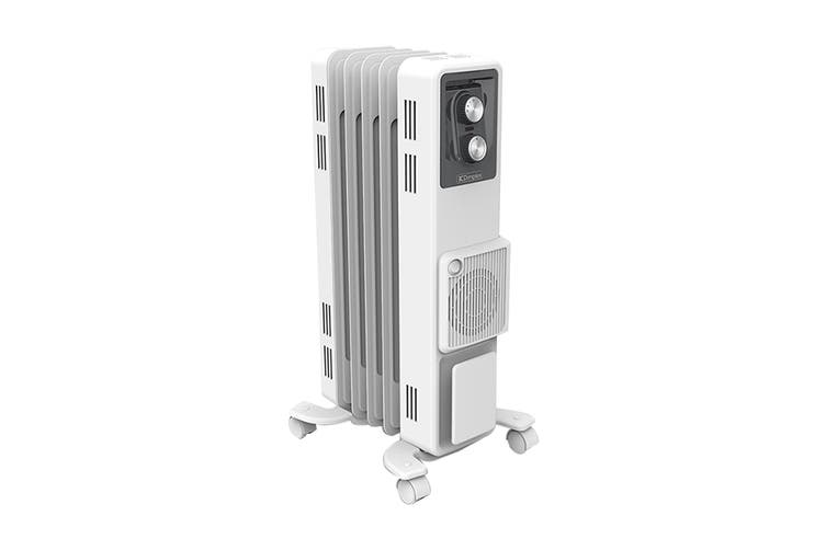 Dimplex 1500W 1.5kW Oil Column Heater with Turbo Fan - Artic White (OCR15FA)