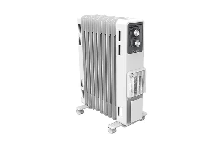 Dimplex 2400W 2.4kW Oil Column Heater with  Turbo Fan - Artic White (OCR24FA)