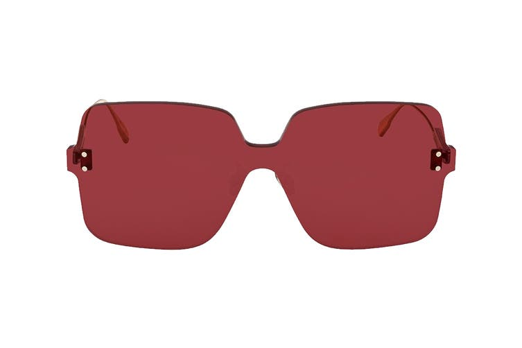 Dior DIORCOLORQUAKE1 Sunglasses (Ople Burg, Size 99-01-145) - Red