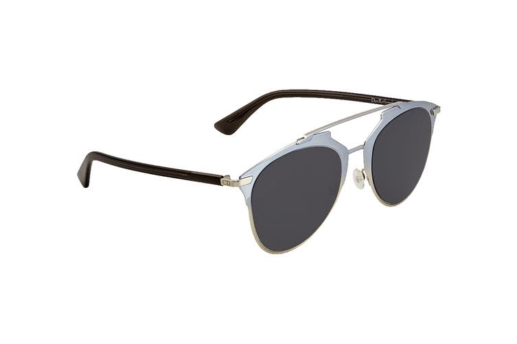 Dior DIORREFLECTED Sunglasses (Blue Whte, Size 52-21-140) - Grey Blue