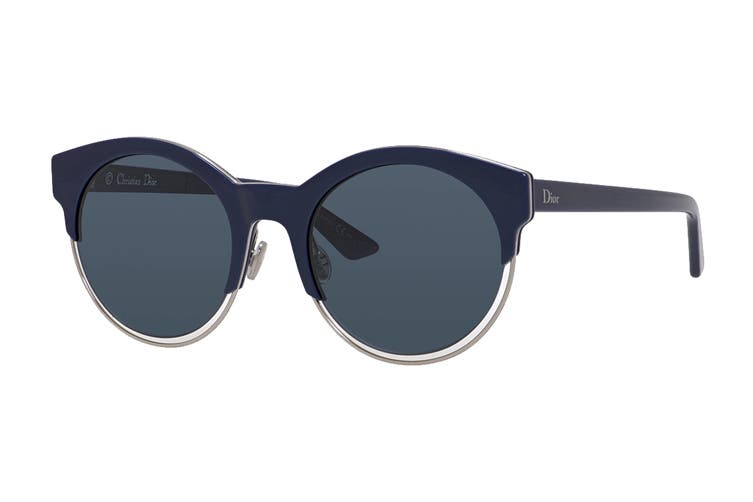 Dior DIORSIDERAL1 Sunglasses (Blue Palladium, Size 53-21-145) - Blue Avio