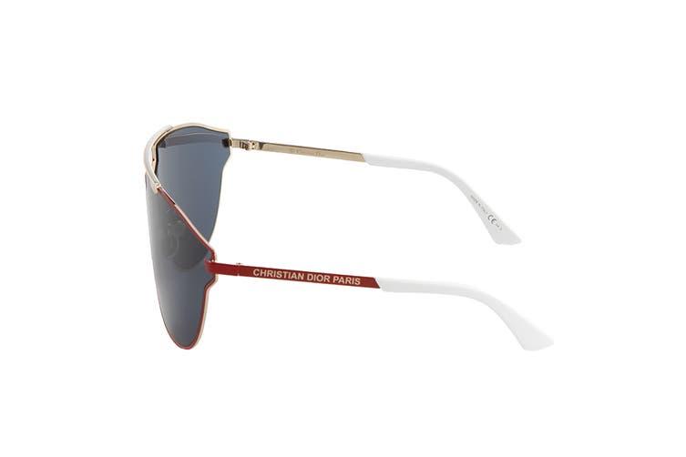 Dior DIORSOREALFAST Sunglasses (Red Gold, Size 69-12-125) - Blue Avio