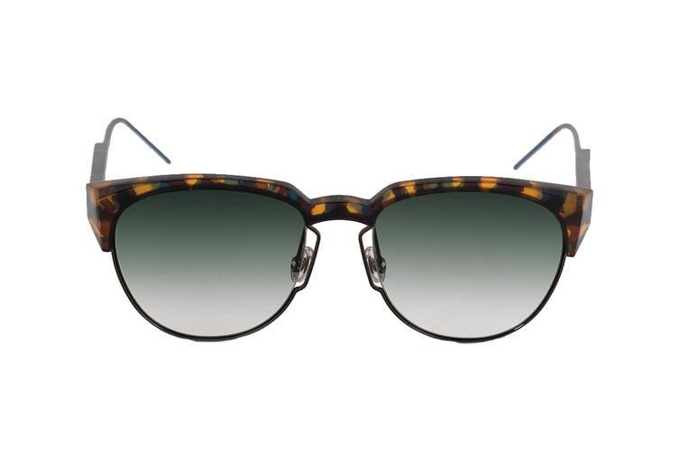 Dior DIORSPECTRAL Sunglasses (Yellow Havana, Size 53-18-150) - Green Sf