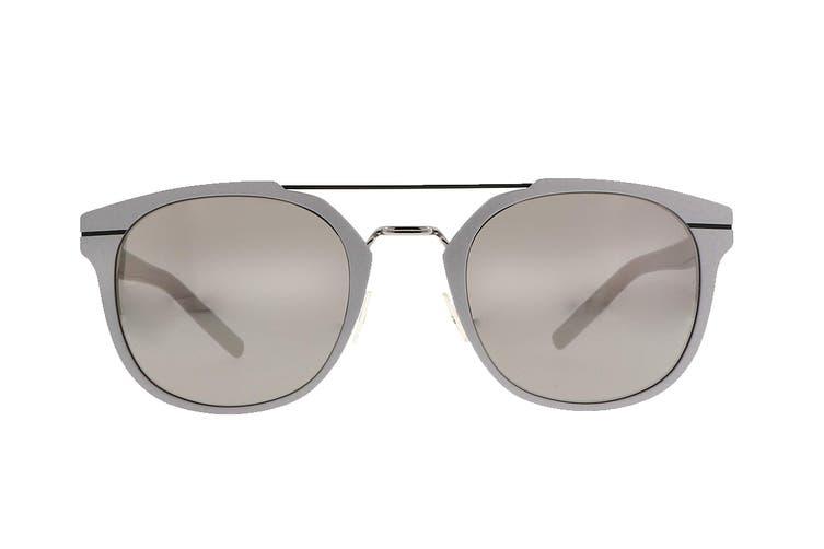 Diorhomme AL13.5 Sunglasses (Matte silver blue, Size 52-23-145) - Gray Silver Mir