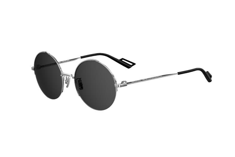 Diorhomme DIOR180.2F Sunglasses (Pall Blck, Size 53-20-150) - Grey Blue