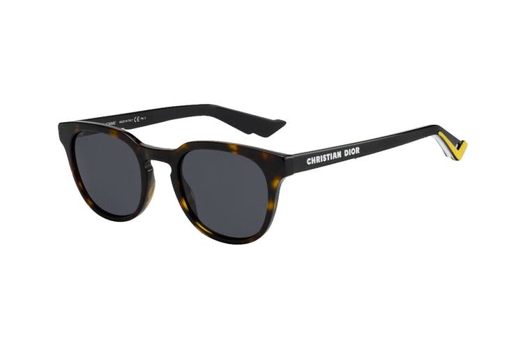 Diorhomme DIORB24.2 Sunglasses (Dkhavana, Size 51-22-145) - Grey Blue