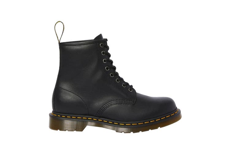 Dr. Martens 1460 Black Nappa Hi Top Shoe (Black, Size 7 UK)